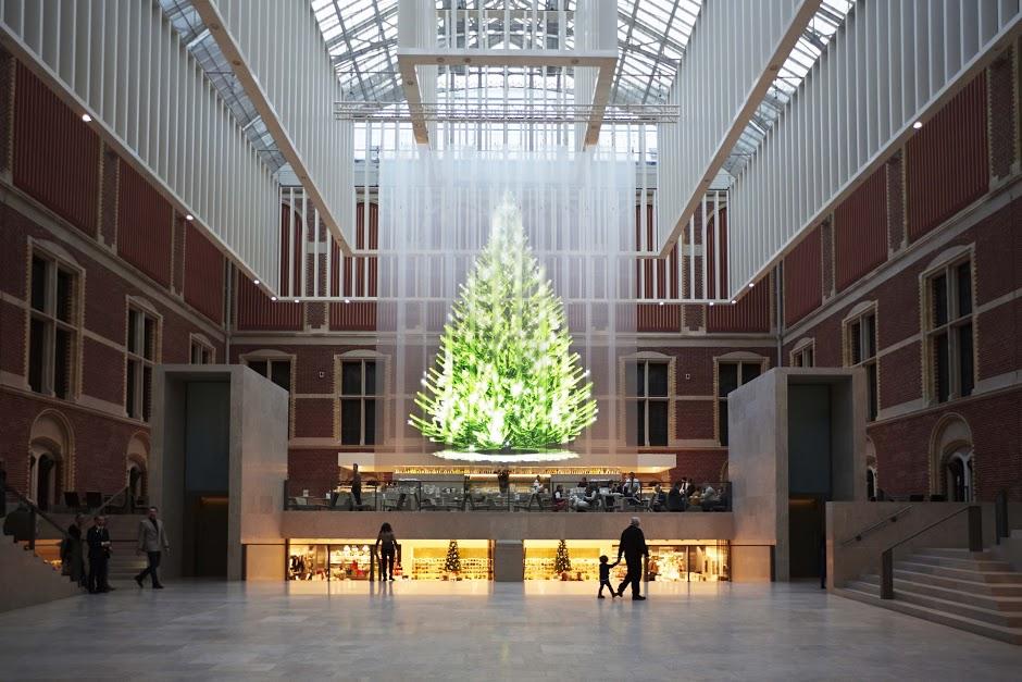 Rijksmuseum kerstboom